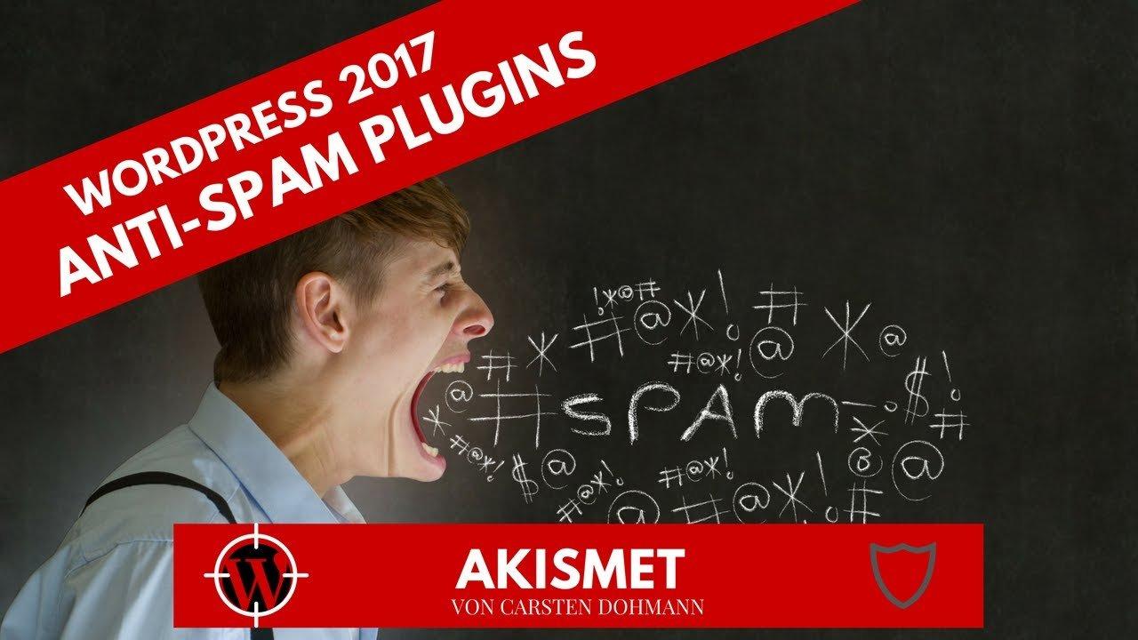 WordPress 2017 - Anti-Spam Plugin AKISMET