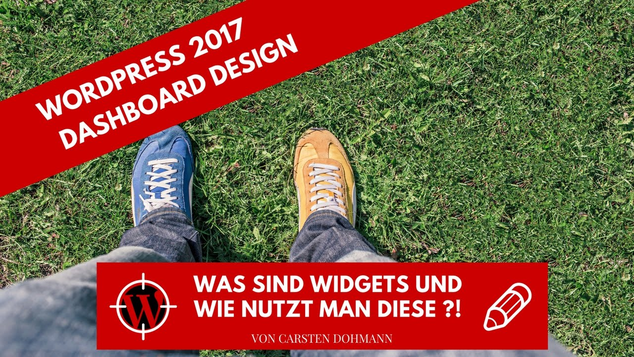 WordPress 2017 - Was sind Widgets und wie nutzt man diese ?!