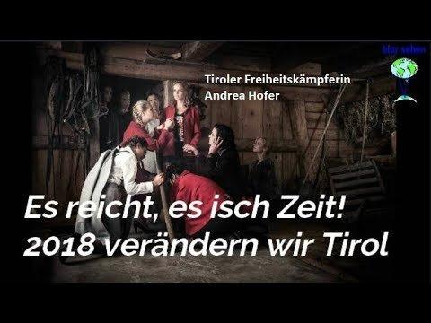 Aktiver Widerstand: Andrea Hofer ruft alle Tiroler dazu auf sich zur Wehr zu setzen