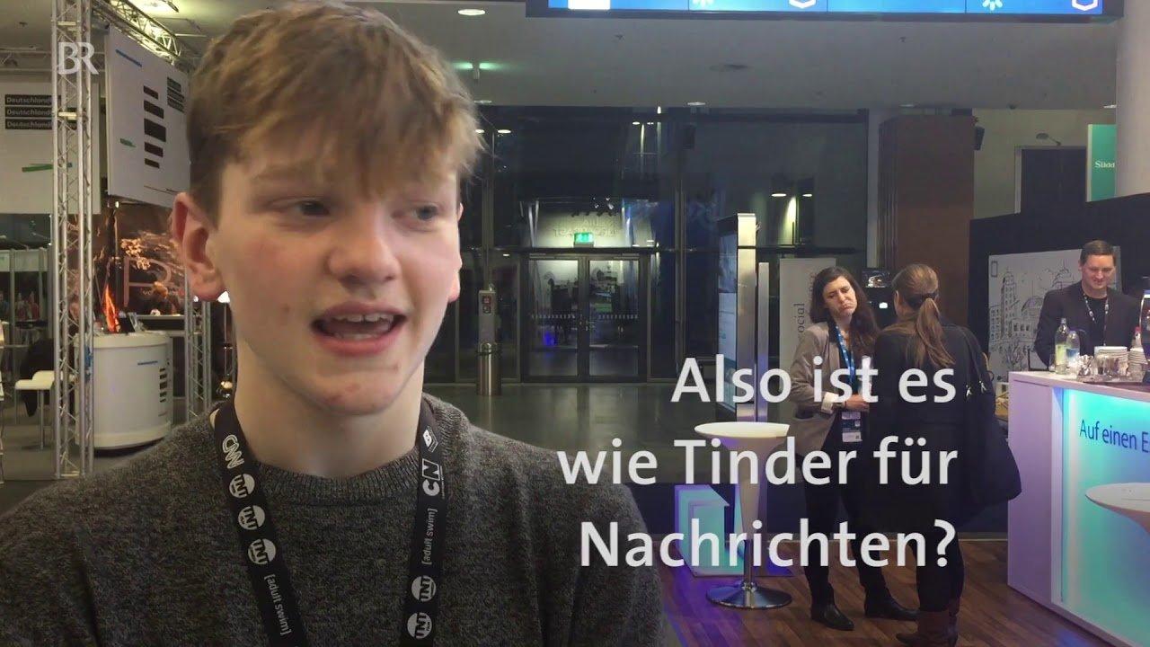 Alex Goodison, 14-jähriger App-Entwickler aus Irland. #MTM17 - BR