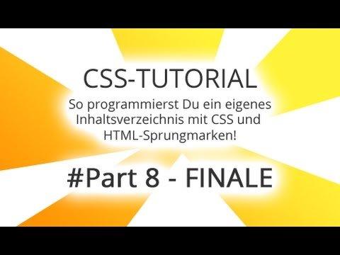 CSS Tutorial Deutsch Anfänger - 2 Zusatz-Tipps Part 8/8
