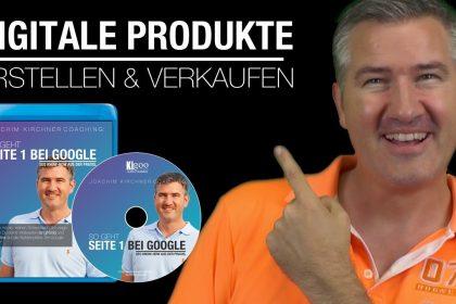 Digitale Produkte erstellen und verkaufen