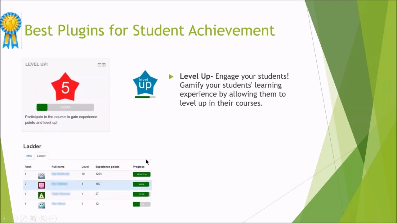 eClass4learning Best Moodle Plugins of 2016 Awards
