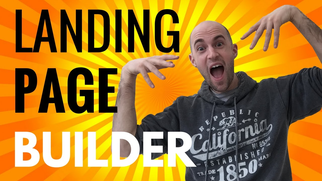 Landing Page Builder - Best Landing Page Builder For Wordpress - MUST WATCH!
