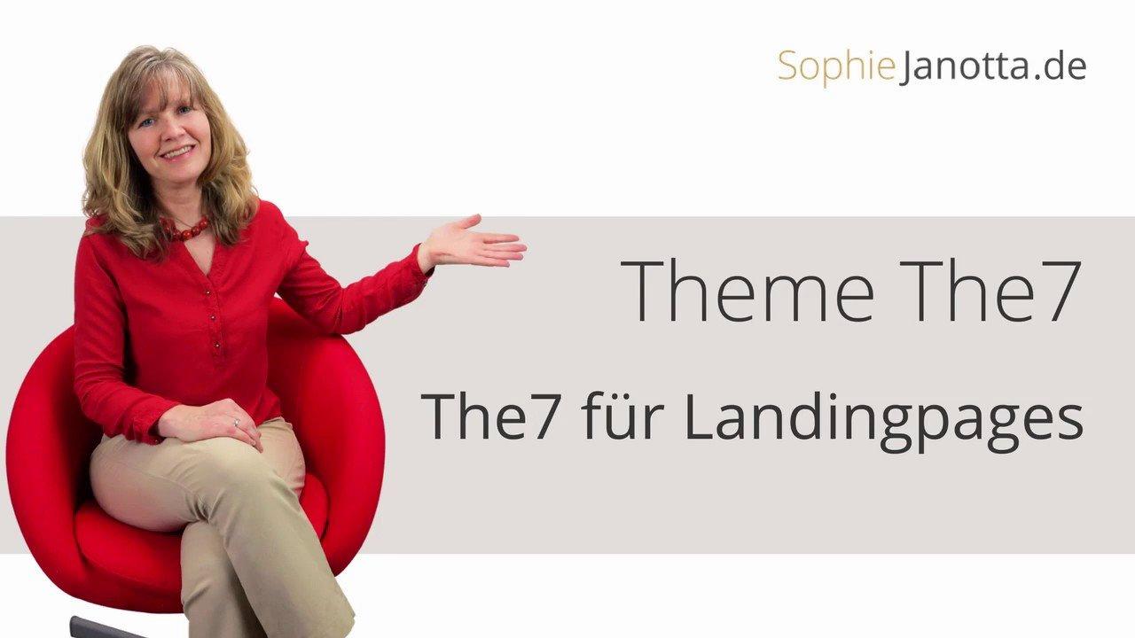 Landingpages mit dem The7 erstellen