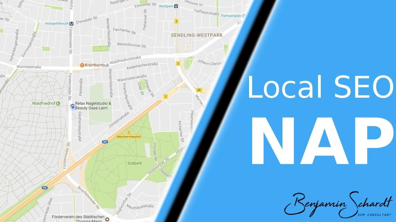 Lokales SEO - Was ist NAP?
