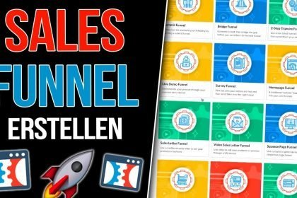 SALES FUNNELS ERSTELLEN | Online Marketing Tutorial + Clickfunnels Erklärung