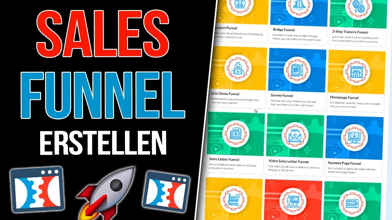 SALES FUNNELS ERSTELLEN | Online Marketing Tutorial + Clickfunnels Erklärung