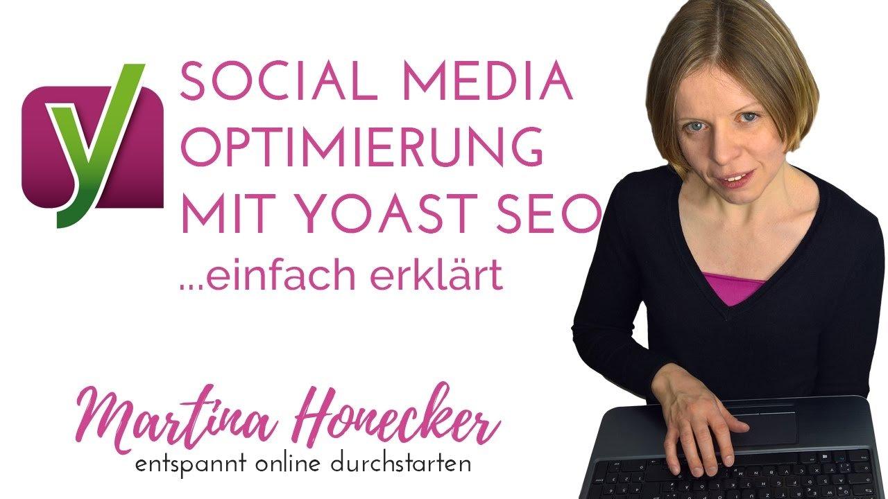 Social Media Optimierung in Yoast SEO
