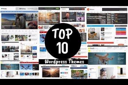 Top 10 wordpress Blog/Magazine Themes for AdSense | Free Premium themes