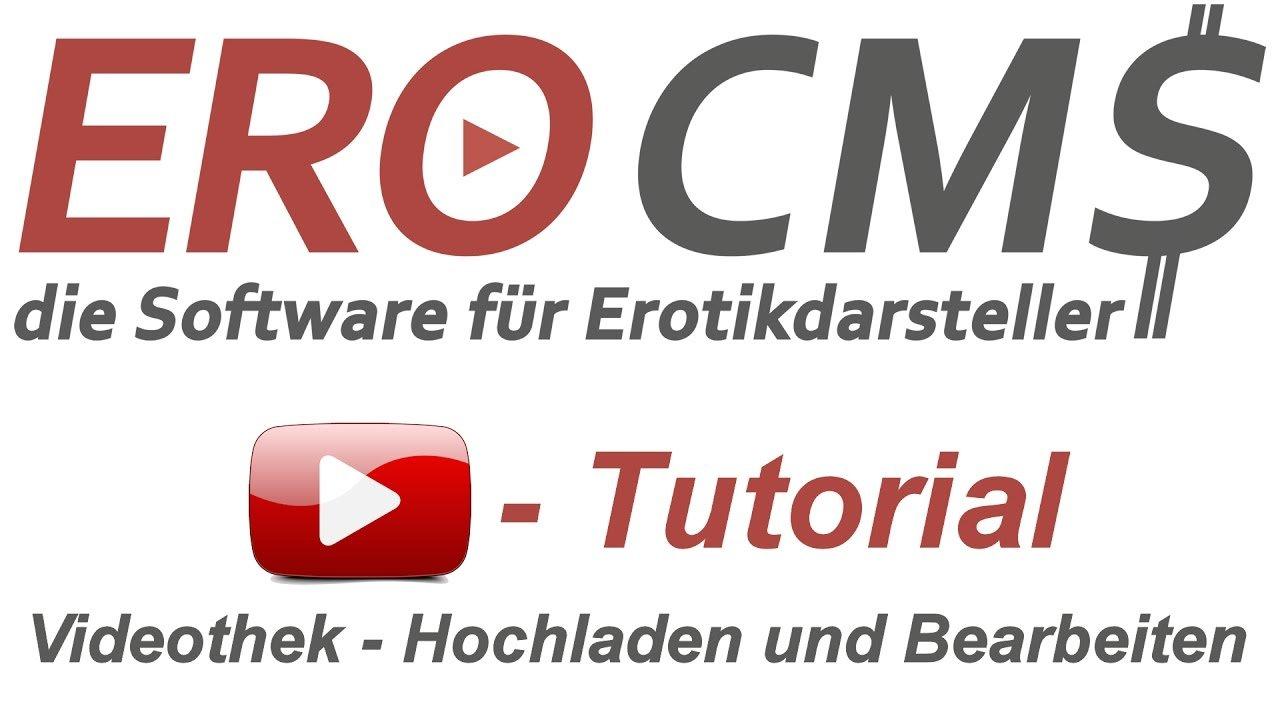 Tutorial: EroCMS Videothek - Videos hochladen, pflegen und SEO optimieren
