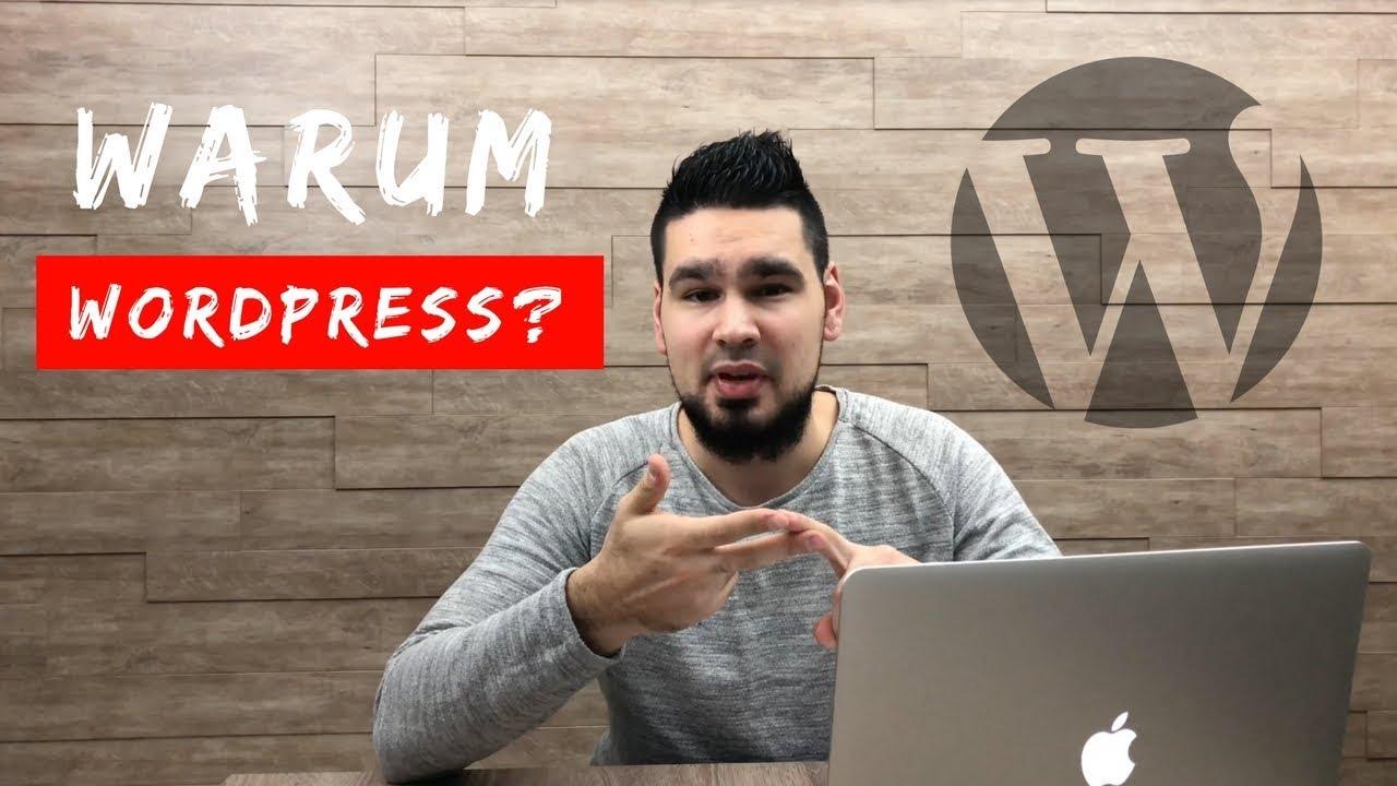 Warum ich als Webdesigner WordPress für die Webseiten Erstellung nutze