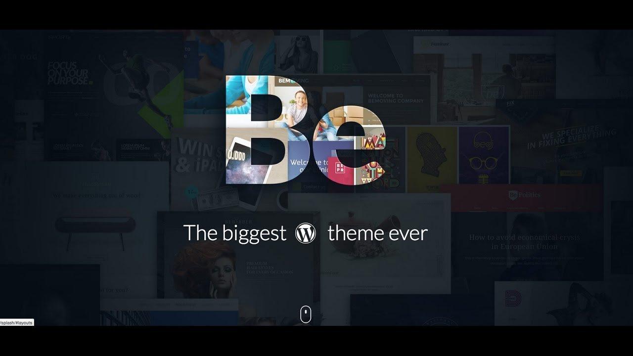 Wordpress Be Theme Tutorial - 1 | 2017 | 713-344-1761