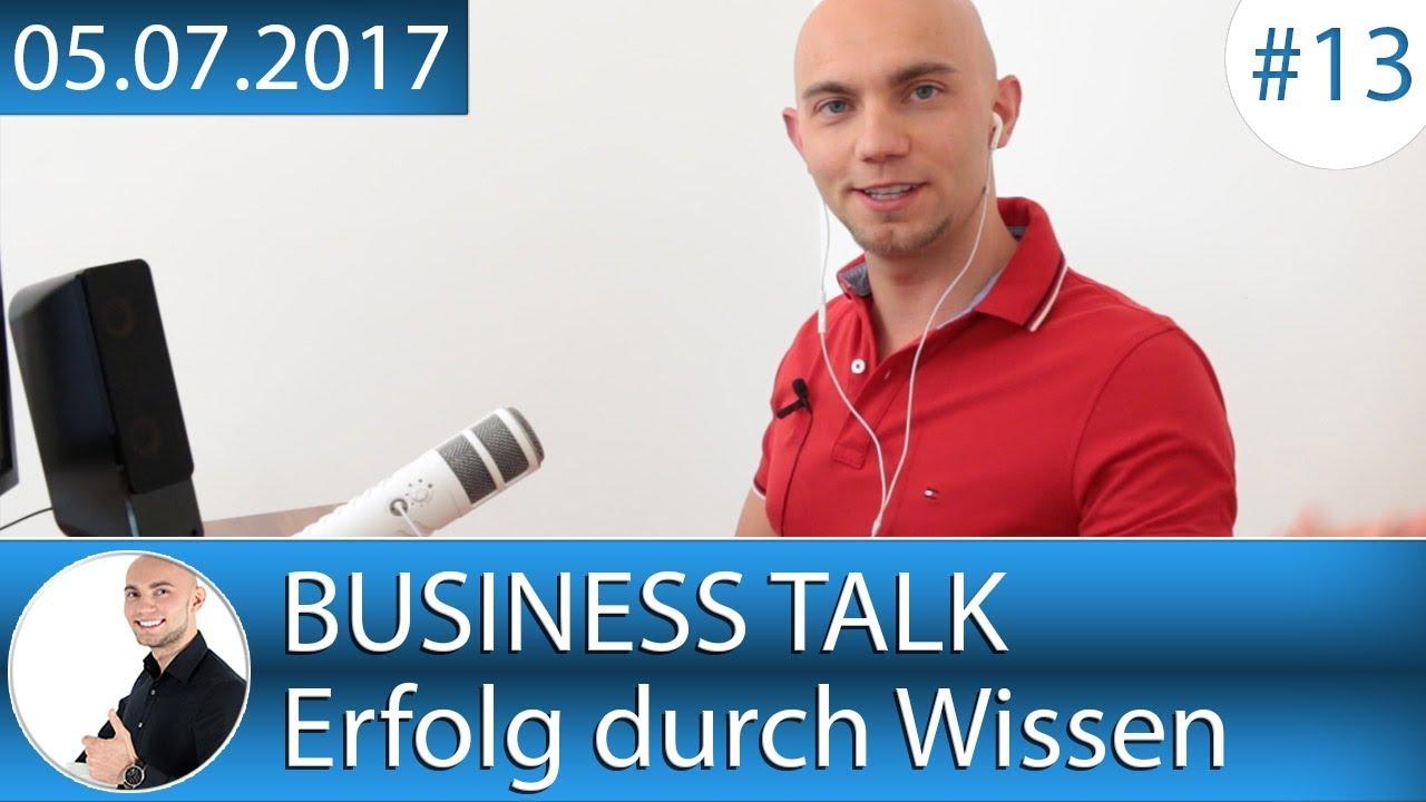 Business Talk - Erfolg durch Wissen - Vlog