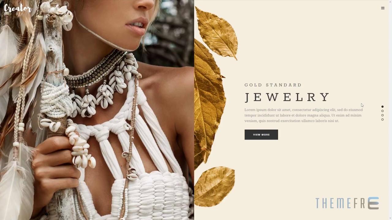 CREATOR Refined Wordpress Theme for Handmade Artisans, Business, Shop, creation, art