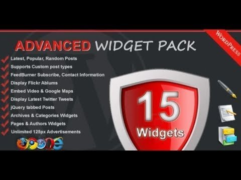 Download Nulled Advanced Widget Pack