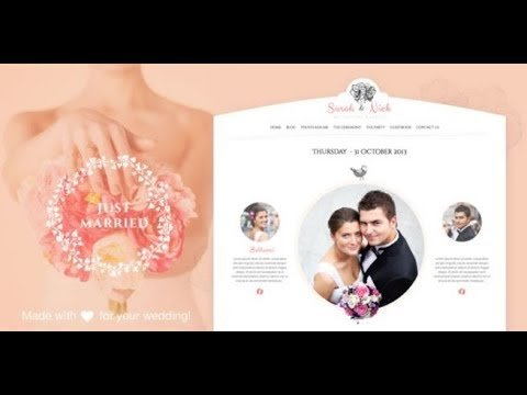 Download Nulled The Wedding Day WordPress Theme