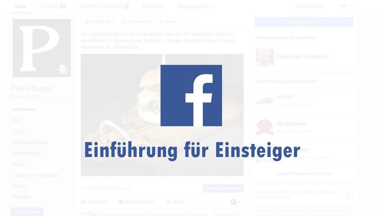 Facebook für Einsteiger, Anfänger und Senioren in Vereinen