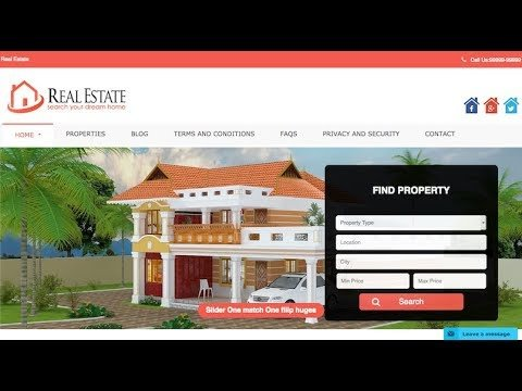 How to Download  Free  WP Residence Real Estate WordPress Theme- tricky internet