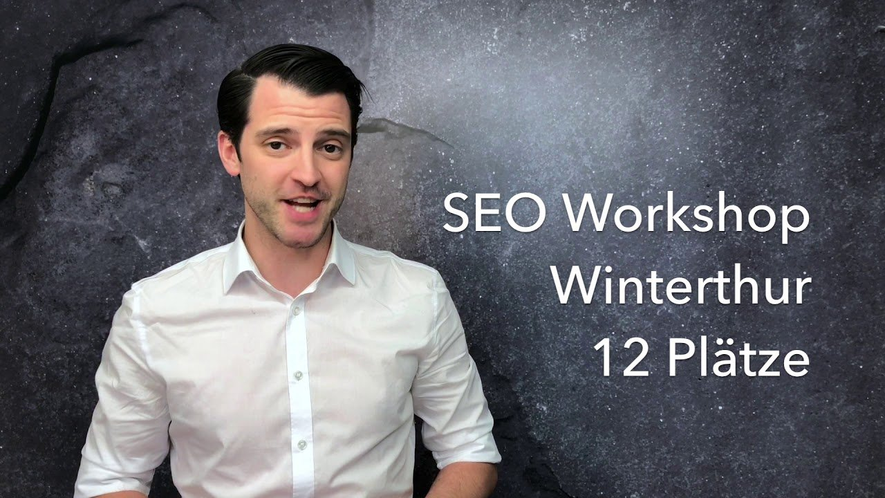 SEO Workshop in Winterthur bei der Analytics Agentur
