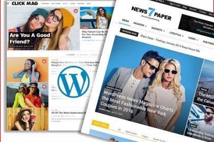 Top 10 Best Blog Magazine News Wordpress Themes List 2017