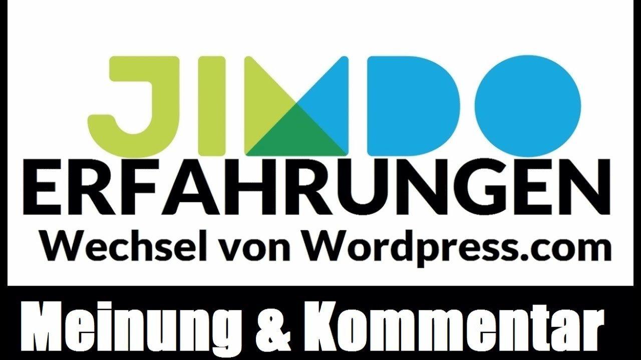 Wieso ich von Wordpress.com auf Jimdo gewechselt bin | Jimdo Erfahrungen |  Kurz - Podcast