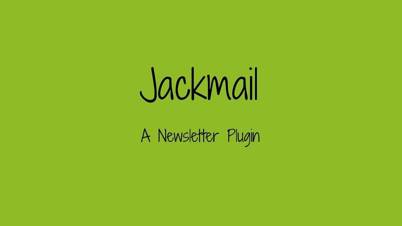 Wordpress Newsletter Plugin: Jackmail