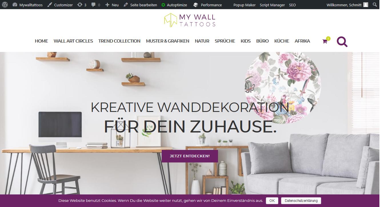 Mywalltattoos Shop