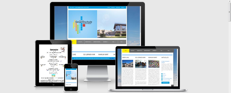 GS Aachen-Brand - Schulwebseite
