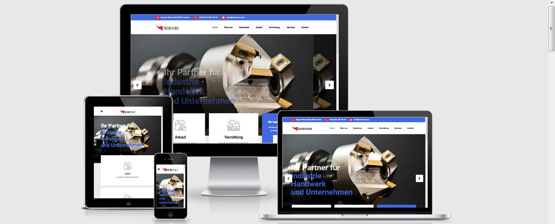 Heidemeier Aachen - Responsive Webdesign