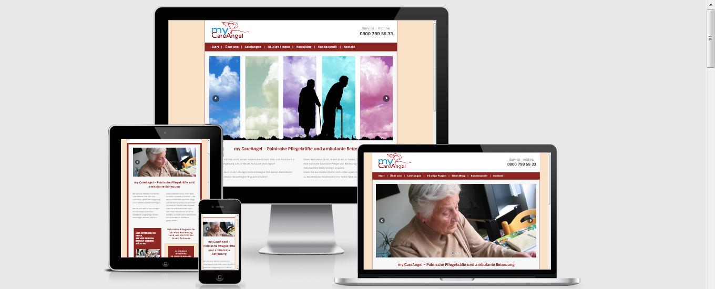 my-careangel.com - Pflegewebseite Aachen