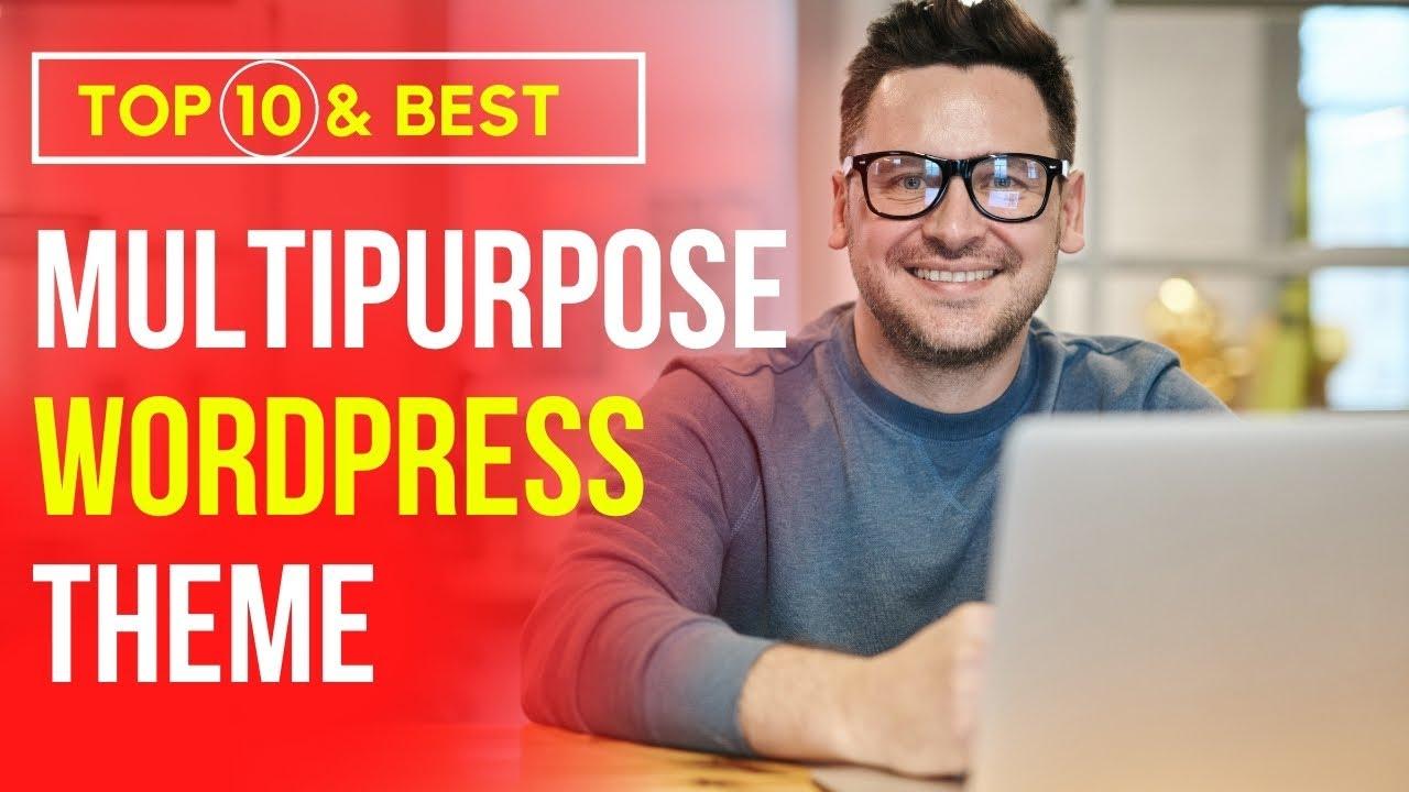 10 Best multipurpose wordpress themes 2021 | Top Selling Wordpress Themes 2021