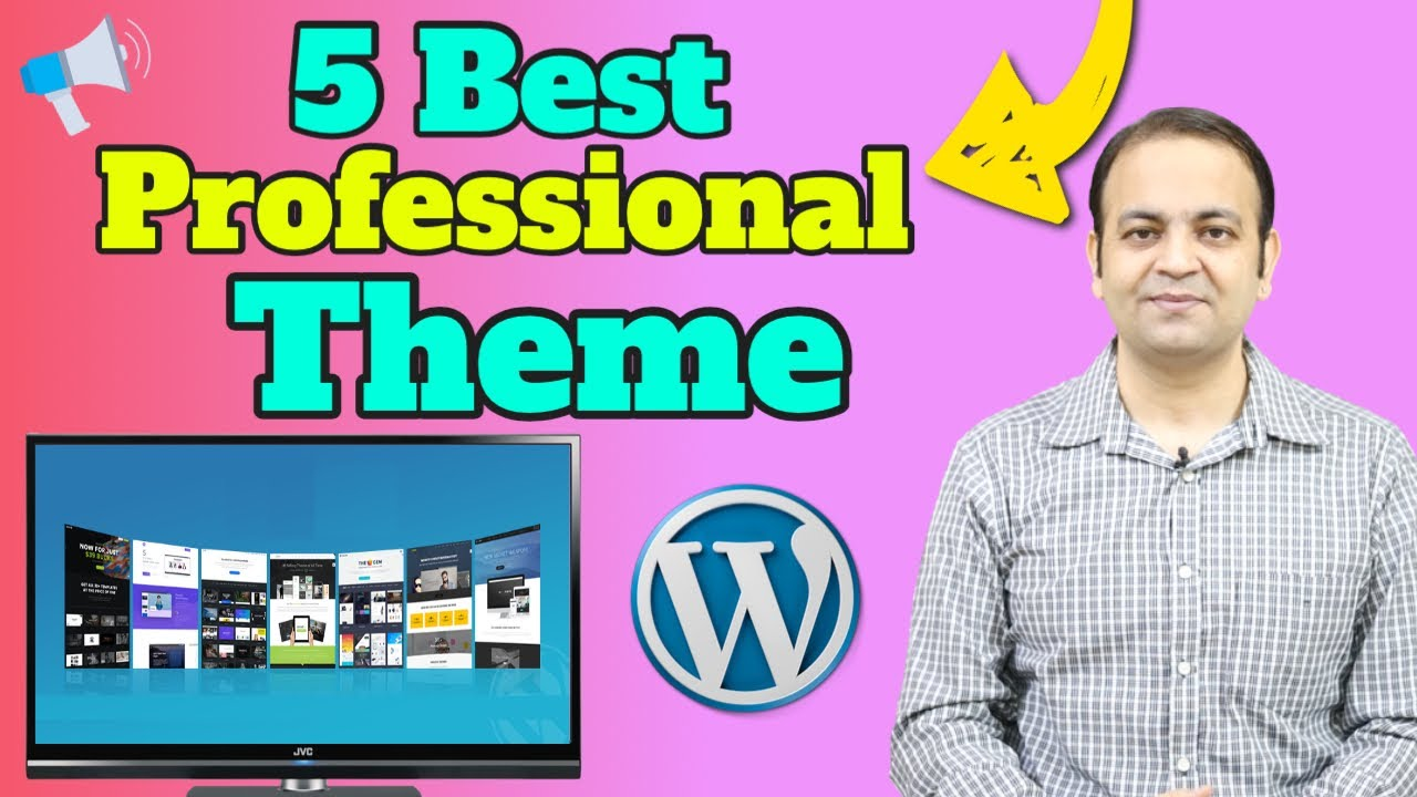 5 Best Professional Responsive Wordpress Themes For Blogging Free Download 2020 | Techno Vedant