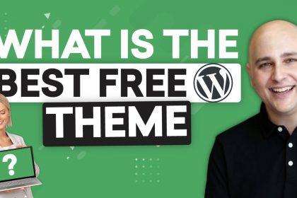Best Free WordPress Theme 2021 For Elementor Or Gutenberg - Build Better Sites FASTER