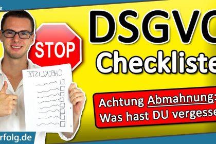 DSGVO (Abmahnung vermeiden): WordPress Website DSGVO-Checkliste - Einfach Erklärt - 2021 // Deutsch
