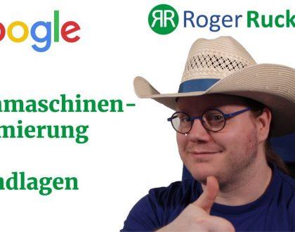 Google SEO Suchmaschinenoptimierung Grundlagen