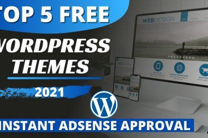 TOP 5 Best & Free WordPress Themes in 2021   WordPress Themes free Download
