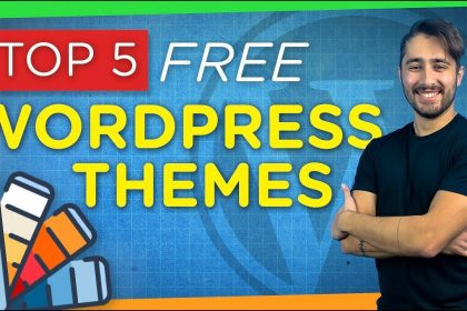 Top 5 FREE & Best WordPress Themes   2021 Review