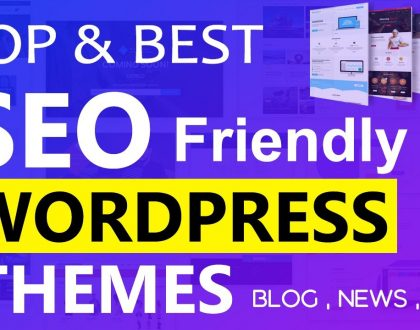 Top SEO Friendly WordPress Themes 2021  |  5 BEST Themes for Blog ,  Magazine and Shop