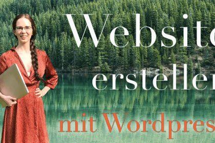Website erstellen mit Wordpress (2020) - Schritt für Schritt Tutorial