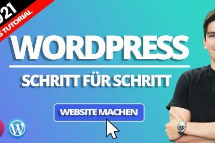 Eine WordPress Webseite mit Elementor erstellen – 2021