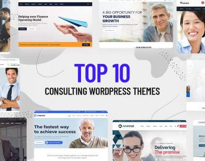 Top 10 Best Consulting WordPress Themes 2021