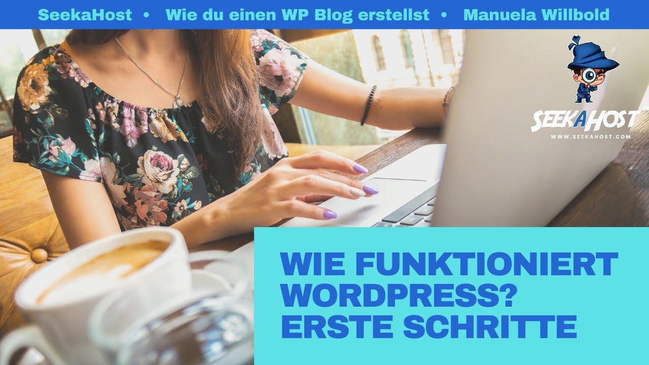 Wie funktioniert WordPress? WordPress Anleitung mit den ersten Schritten eine Website zu erstellen