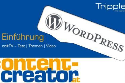 cc#TV Wordpress Anleitung 1 - Einführung in das Backend von Wordpress