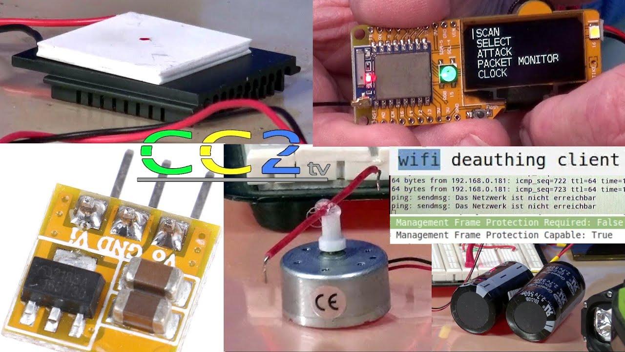 CC2tv #259 Strom kostenlos + Netzwerk per Funk lahmlegen.