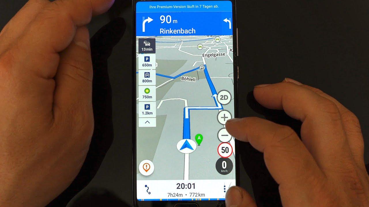 GPS Navigation & Maps kostenlos ohne Internet