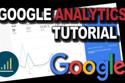 Google Analytics Tutorial Deutsch | Google Analytics einrichten und mit Wordpress verknüpfen