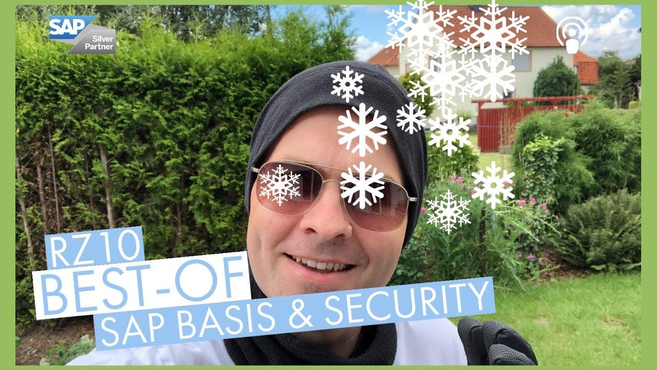 Naherholungsgebiet Rechenzentrum | Best-of SAP Basis & Security Juni 2020
