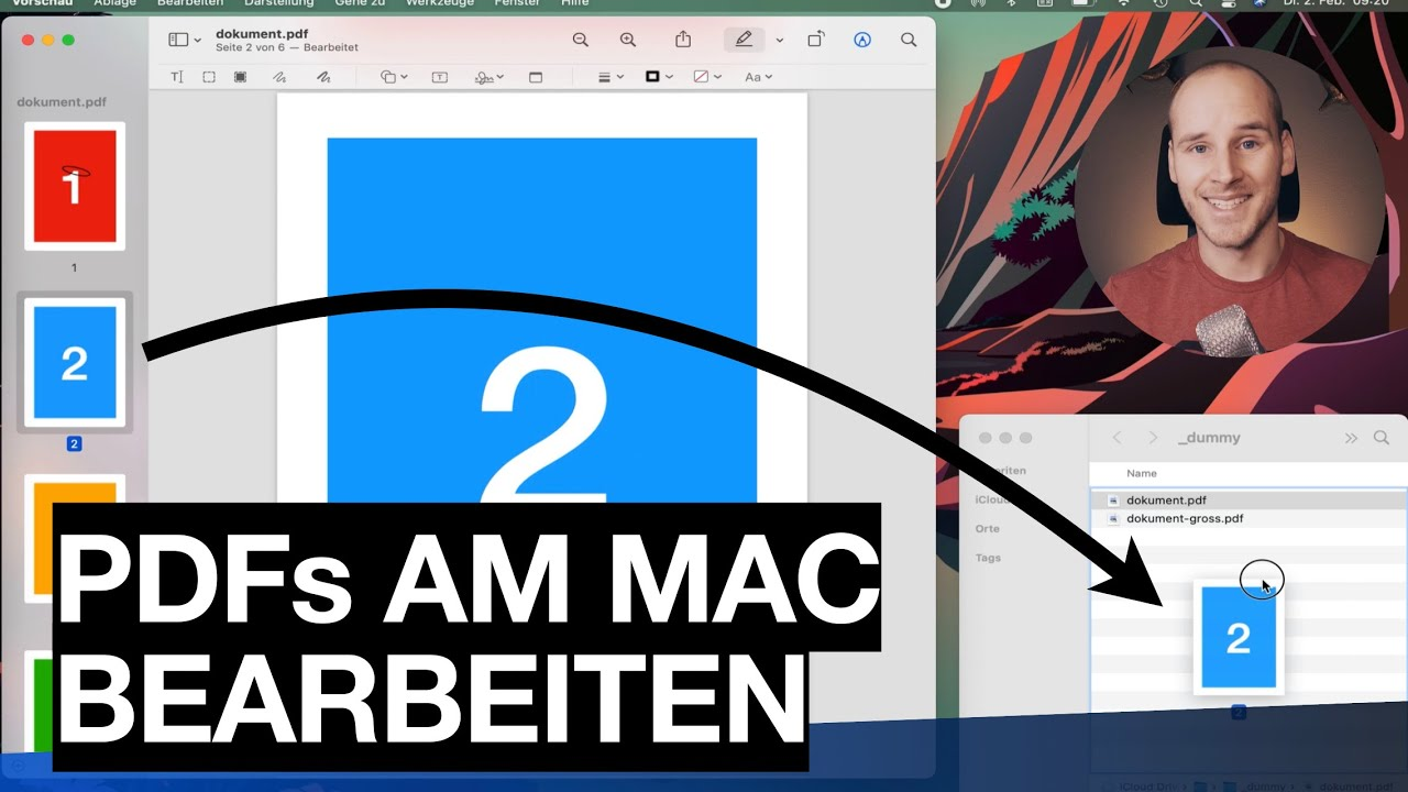 PDFs am Mac bearbeiten | kostenlos