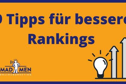 SEO Optimierung 2020 | 9 Tipps für bessere Rankings bei bei Google | SEO Tricks & Tipps